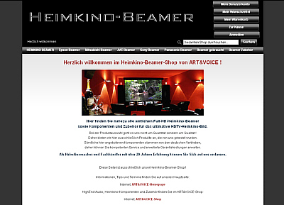 Heimkino-Beamer-Shop